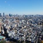 Tokyo skyline from Ebisu office 2