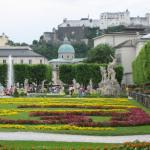 A very cool garden in Salzburg