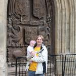 Church Door in Bath